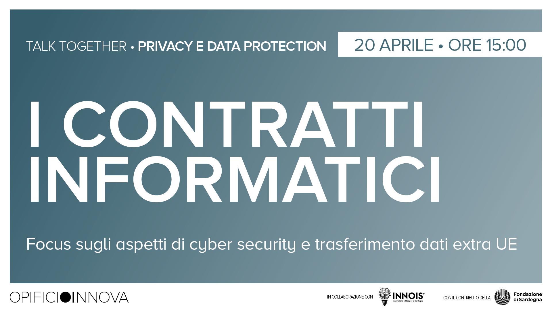 I contratti informatici </br>20-04-2021 ore 15:00