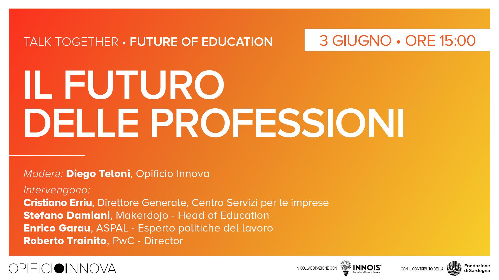 Il futuro delle professioni </br>03-06-2021 ore 15:00