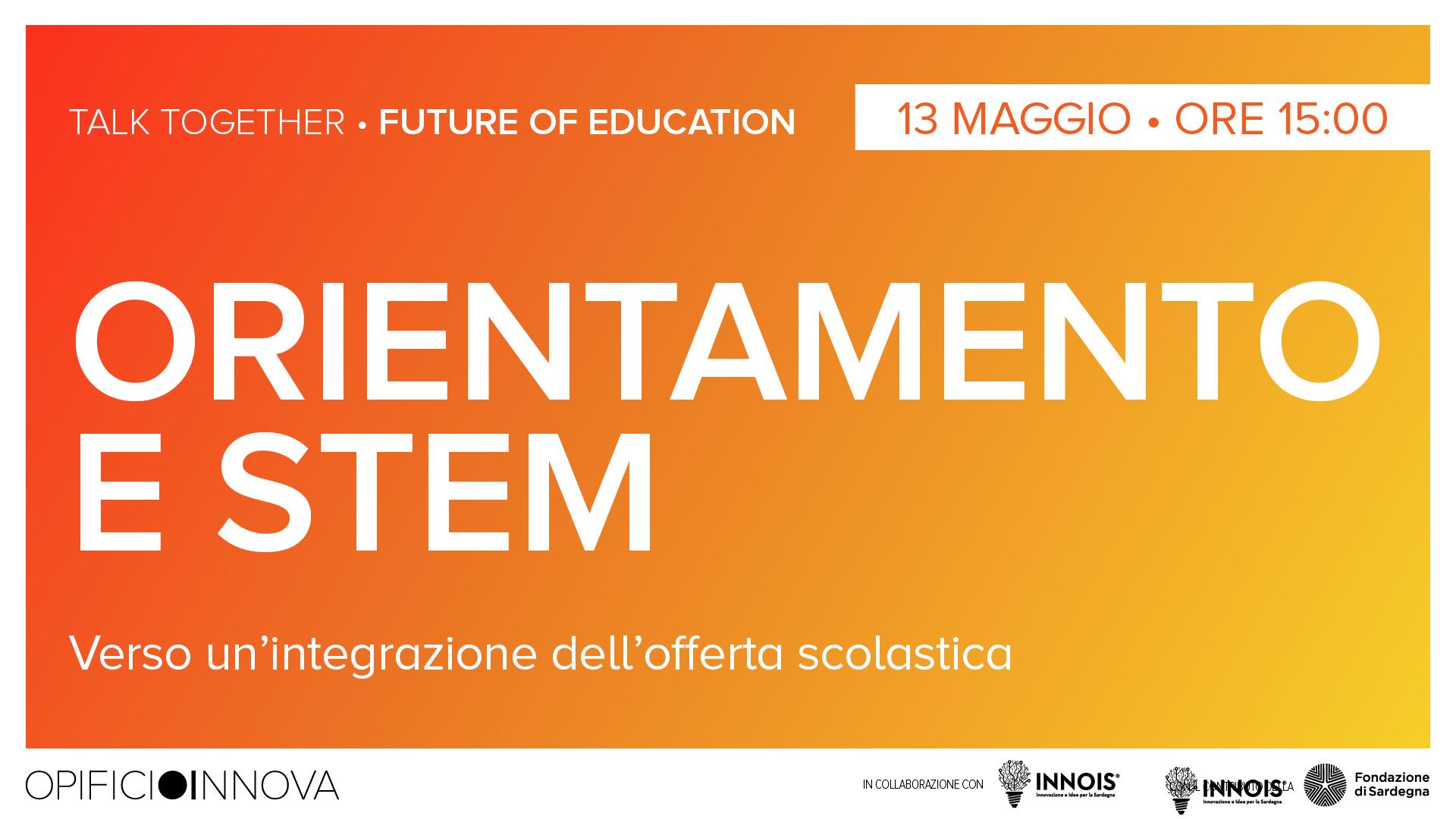 Orientamento e STEM </br>13-05-2021 ore 15:00